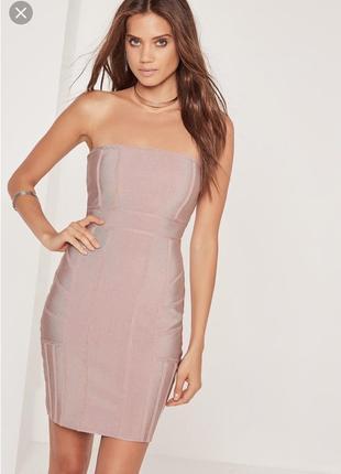 Missguided бандажное платье1