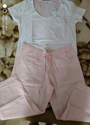 Распродажа! пижама со штанами капри women secret, размер l