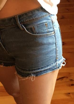 Zara женские коротки джинсовые шортики3