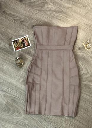 Missguided бандажное платье2