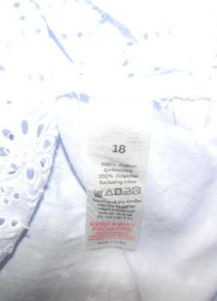 Натуральная легкая блуза с вышивкой4