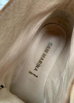 Ботинки san marina кожа3