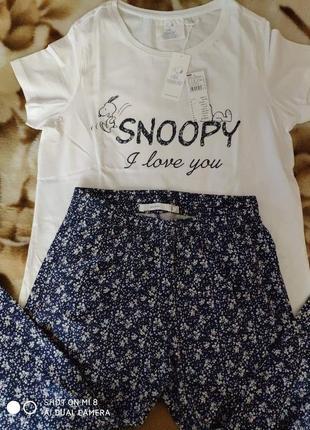 Распродажа! пижама со штанами капри women secret, размер м1