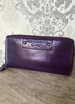 Кожаный кошелёк paul costelloe1