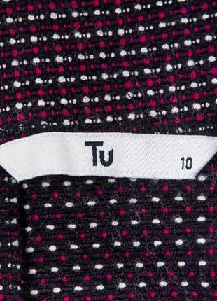 Фактурная плотная  юбка от tu рр 10 наш 443