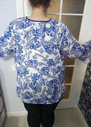 Хлопковая легкая блуза от janet&joyce, 24 размер3