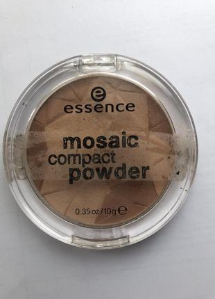 Пудра хайлайтер essence mosaic compact powder