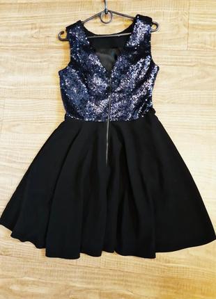 Платье с пайетками4