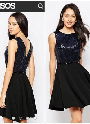 Платье с пайетками9