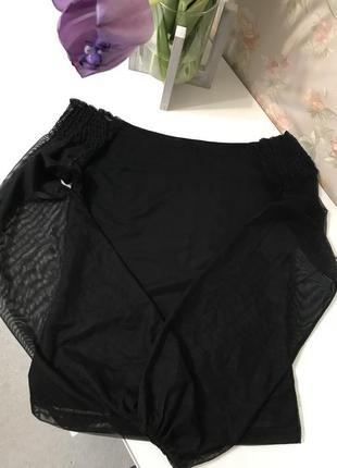 Стильная кофта, блуза/блузка со спущенными/ голыми/ открытыми плечами3