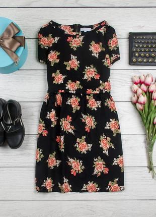 Легкое натуральное платье от redherring рр 10 наш 441