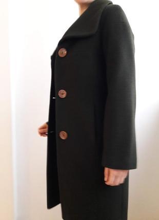 Пальто з вовни та кашеміру