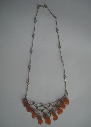 Бусы/ожерелье/подвеска янтарь винтаж2