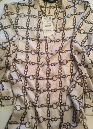 Шикарная блузка-туника zara3