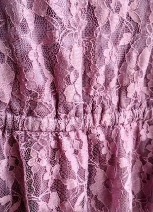 Платье кружевное4