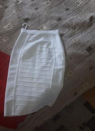Элегантная бандажная юбка 6 расцветок3