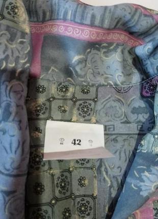 Костюм блуза и юбка плиссировка6