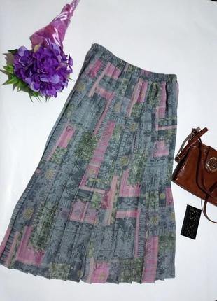 Костюм блуза и юбка плиссировка5