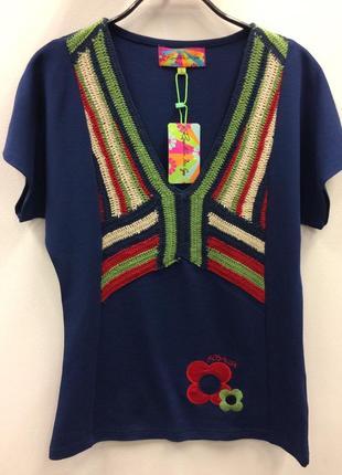 Футболка блуза испанского бренда rosalita mc gee (14201