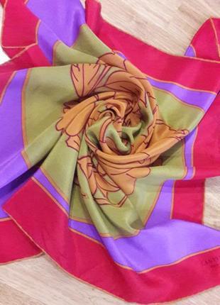 Шелковый платок lanvin,франция.1
