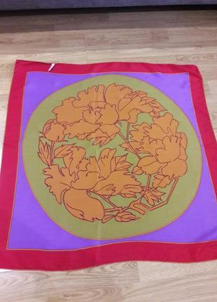 Шелковый платок lanvin,франция.2