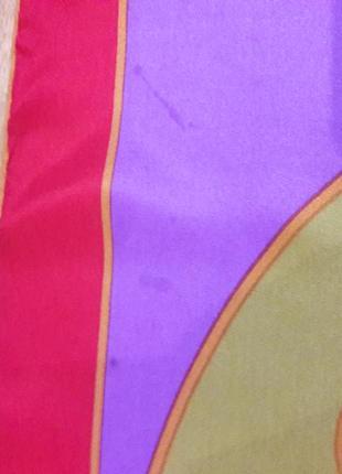 Шелковый платок lanvin,франция.5