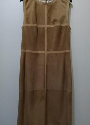 Loewe платье кожа1