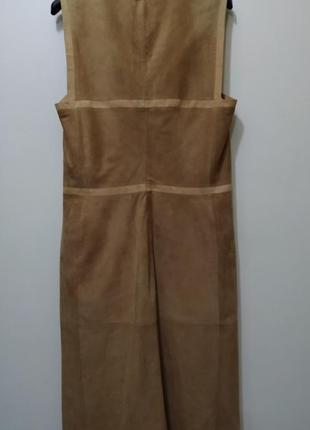 Loewe платье кожа2
