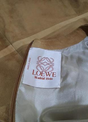 Loewe платье кожа5