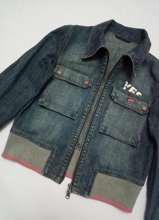 🌿джинсовый пиджак куртка от yes miss3