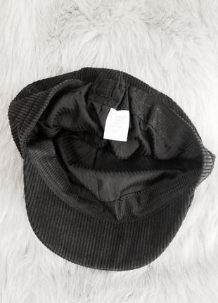 Стильное вельветовое кепи кепка2