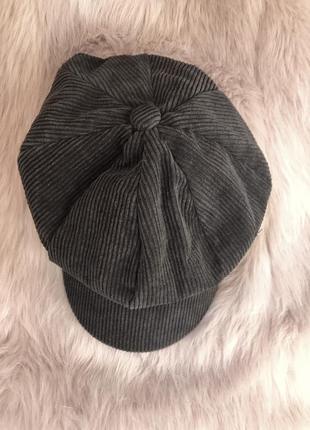 Стильное вельветовое кепи кепка3