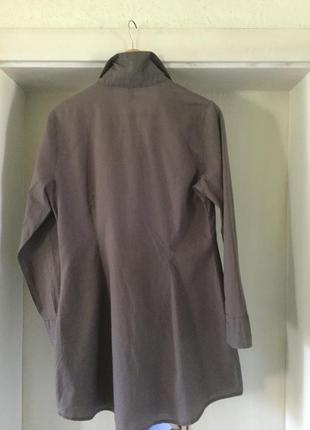 Брендовое платье рубашка. шикарно подойдет под нынче модные велосипедки.2