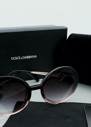 Dolce & gabbana очки женские солнцезащитные круглые