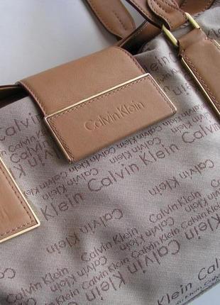Комбинированная сумка calvin klein4