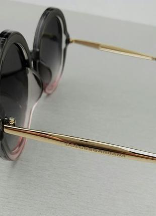Dolce & gabbana очки женские солнцезащитные круглые6 фото