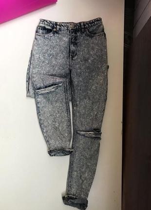 Mom джинсы monki