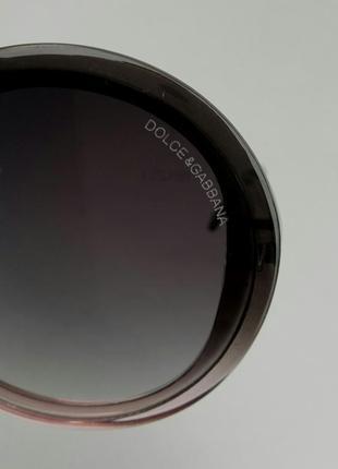 Dolce & gabbana очки женские солнцезащитные круглые10 фото