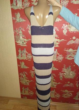 Пляжное платье сарафан2