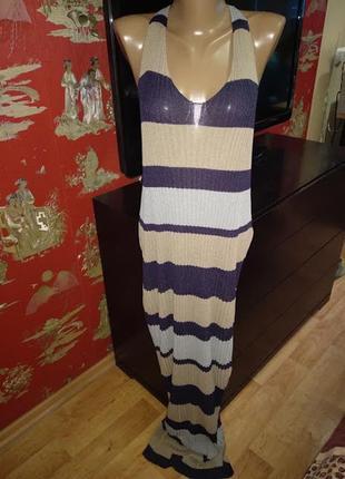 Пляжное платье сарафан3