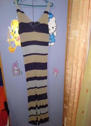 Пляжное платье сарафан4