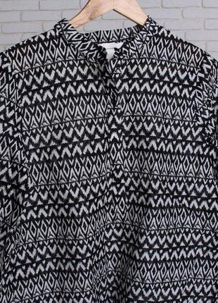 Рубашка женская из  хлопка от h&m2