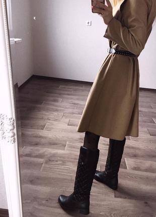 Высокие,чёрные,стёганые сапоги в стиле chanel2