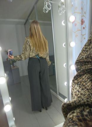 Классические широкие брюки кюлоты палаццо  №16max7