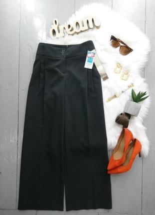 Классические широкие брюки кюлоты палаццо  №16max2