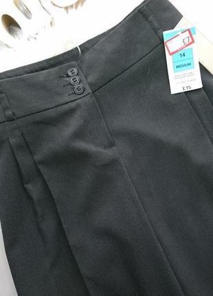 Классические широкие брюки кюлоты палаццо  №16max3