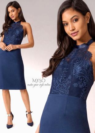 Обворожительное миди платье chi chi london