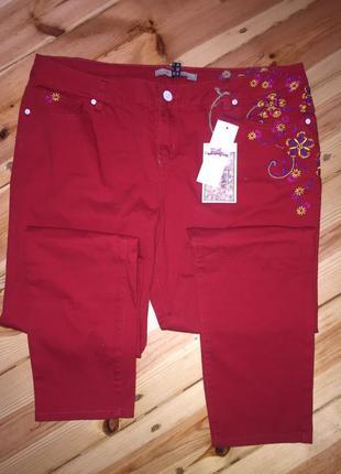 Шикарні нові фірмові джинси , скінні1