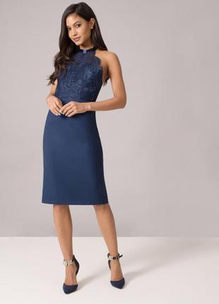 Обворожительное миди платье chi chi london3