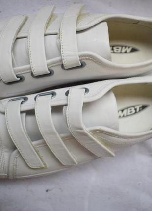 Кожаные туфли мокасины кроссовки на липучках высокая подошва3